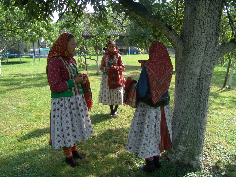 Wilamowicean female costume