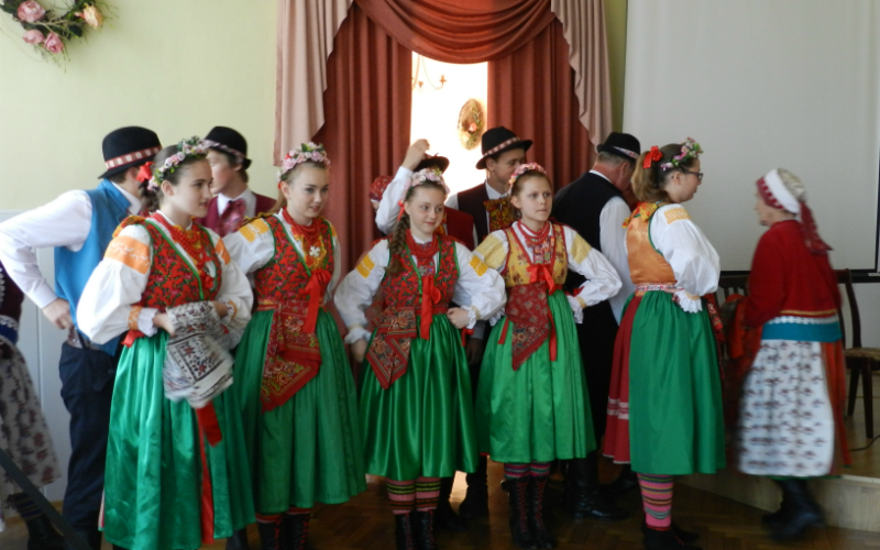 Musical performance, Wilamowice dance group