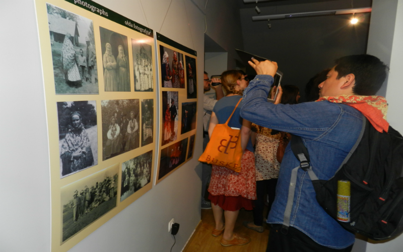"The exhibition ""Wymysorys language now and then"""
