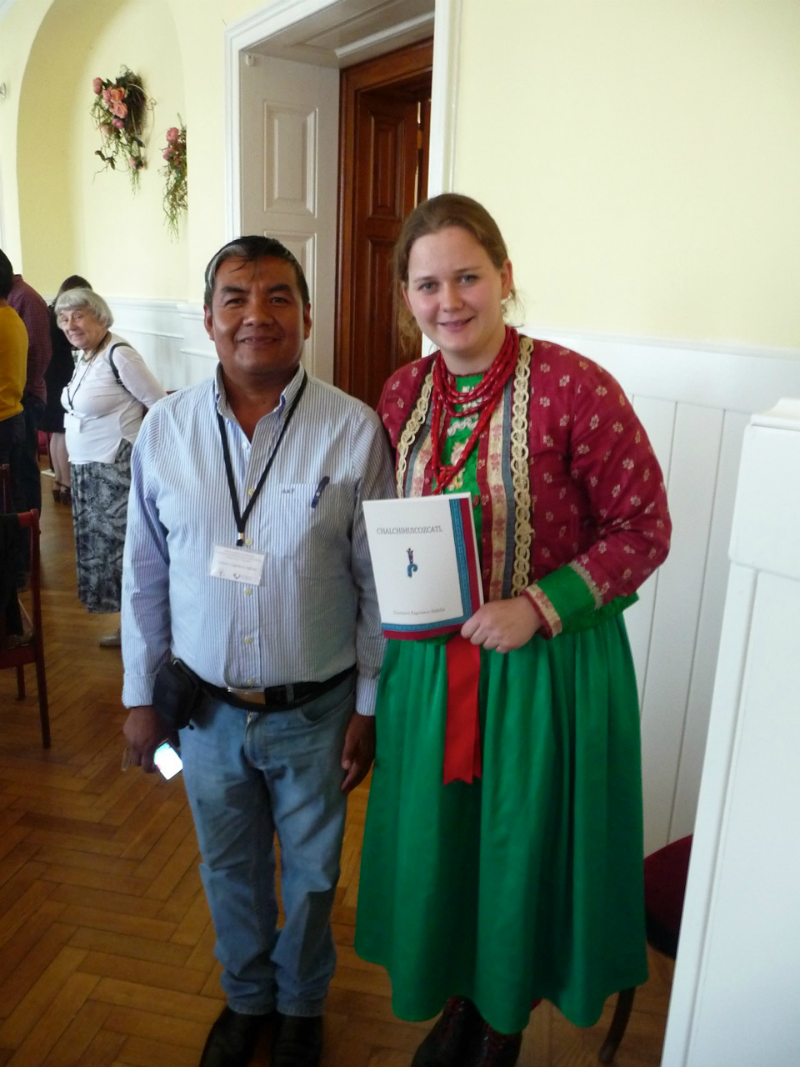 Collaboration between the speakers of Nahuatl and Wymysorys