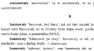 Dictionary of Lemko verbs